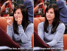 Monica Geller (Courteney Cox) @#Friends #TV show #Gif