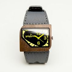 Mistura watches - wood and 'green' versions. AVANTI style shown
