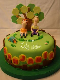 Lola Tortas: Torta Phineas y Ferb