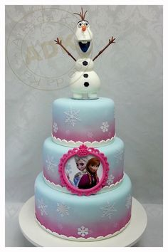 Amazing Frozen cake