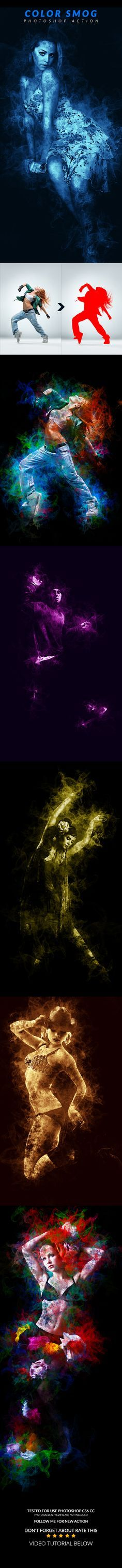 Color Smog Photoshop Action Download here…