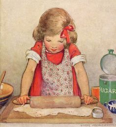 Pie Crust by Jessie Wilcox Smith