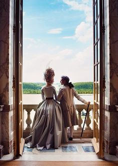 Versailles during the filming of Marie Antoinette (the movie)