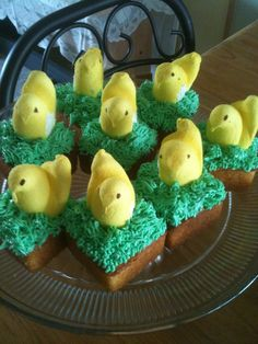 Cute Idea for Cakes or Brownies