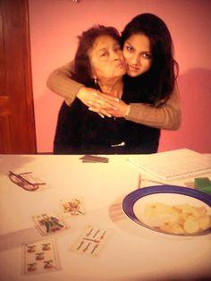 mi mama hermosa <3