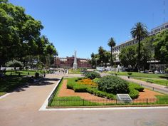 Buenos Aires in Argentina is bubbling with beautiful architecture and plantation