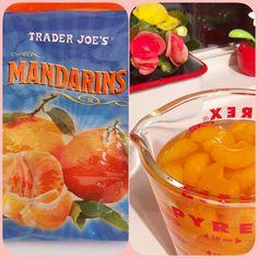 Like a Caned Mandarin orange.  But, It's Home made♪♪