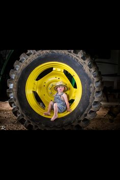 JR photography- John Deere picture every year take one in the wheel!!!!