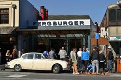 overcrowded Ferburger