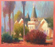 Yuchung Peter Chan Visual Development — Last week's pastel study.