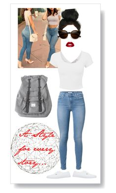 """""""be your own label"""" by parimal-m on Polyvore featuring Arteriors, 7 For All Mankind, Vans, Herschel and ZeroUV"""