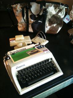 Vintage Contessa typewriter.