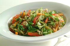 Grønn kinawok. Ville kanskje putta på noe krydder?