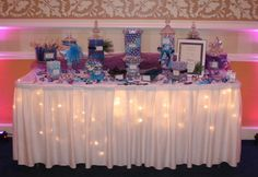 My candy buffet table 10.27.12
