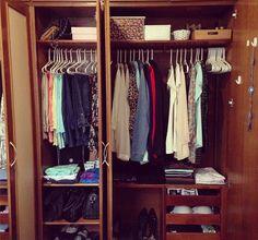 Passo a passo: destralhando o guarda-roupa e ficando com o essencial (muitas fotos!)