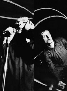 Joy Division - Ian Curtis  by Kevin Cummins, 1979 Tumblr