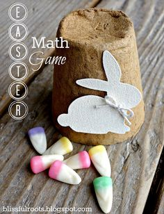Easter Math Game For Kids {In/Out}