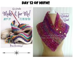 Day 12 of the MIFM event is perfect for the beginner crocheter! Enjoy the FREE Pattern!