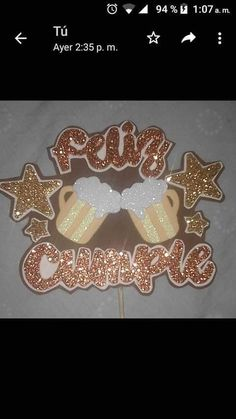 Diy Cake Topper, Cupcake Toppers, 3d Paper Crafts, Diy And Crafts, Book Page Art, Ideas Para Fiestas, Birthday Crafts, Party Time, Projects To Try