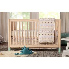 The+Babyletto+Gelato+4-in-1+Convertible+Crib+offers+playful+practicality+to+your+nursery.+