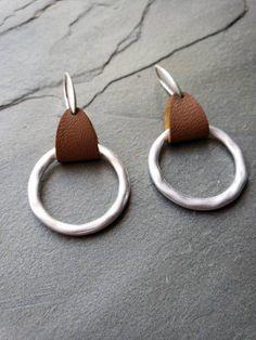 jewels house Moon Shape Earrings Silver Plated Handmade Dangle Drop Earrings Best Gift for Women Girls