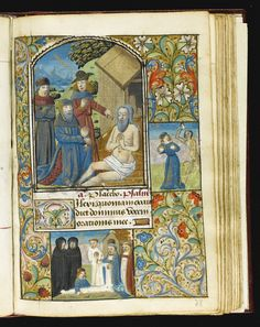Book of Hours, Use of Rouen, in Latin and French [France (Rouen), 1490s] | lot | Sotheby's