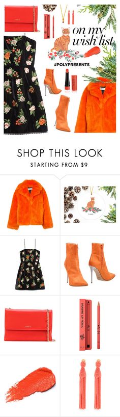 """""""#PolyPresents: Wish List"""" by katymill ❤ liked on Polyvore featuring Diane Von Furstenberg, Alice + Olivia, Luca Valentini, Lanvin, IPKN, Oscar de la Renta, contestentry and polyPresents"""