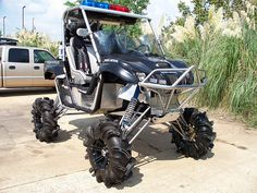 Swag Police Yamaha Rhino. Pinehurst New police car