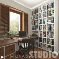 Gabinet - zdjęcie od MIKOŁAJSKAstudio - Gabinet - Styl Kolonialny - MIKOŁAJSKAstudio