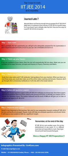 Top 5 ways to crack down IIT JEE Exam 2014