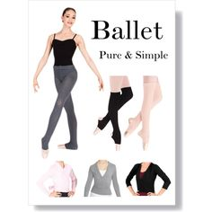 """Ballet Warm-Ups"" by discountdancesupply on Polyvore.  Get the perfect classical look for warming up in ballet class! #warmups #ballet #balletclass"