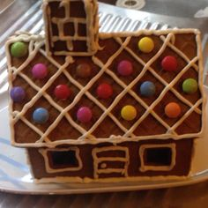 Oldie but Goodie! X-mass gingerbread house!
