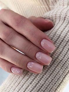 Natural Nails is a classic style in short nails, which is stylish and beautiful without affecting daily activities. A variety of colors and decorative patterns make natural nails more suitable for clothing for different occasions. Classy Nails, Stylish Nails, Simple Nails, Trendy Nails, Cute Nails, Fancy Nails, Milky Nails, Nail Polish Online, Neutral Nails