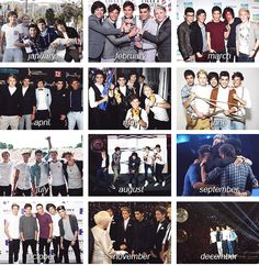 2012: The Year of One Direction... My babies have come so far.<3