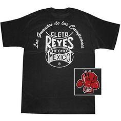 Cleto Reyes T-Shirt, Size: Large, Black