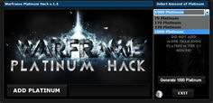 You can choose up to 1000 free platinum to add to your account:  http://warframe-platinum.net/