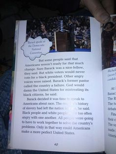 Common Core 4th Grade textbook white voters are racists
