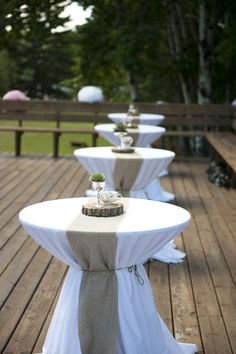 Calgary Glenmore Sailing Club Wedding from Blair Marie Photography Wedding Table, Diy Wedding, Rustic Wedding, Tent Wedding, Gothic Wedding, Glamorous Wedding, Cocktail Table Decor, Cocktail Tables, Wedding Stage Decorations
