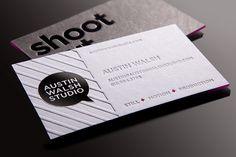 Austin Walsh Studio Business Card by Whiskey Design, via Flickr   #Business #Card #creative #paper #businesscard #corporate #design repinned by www.BlickeDeeler.de   Follow us on www.facebook.com/BlickeDeeler