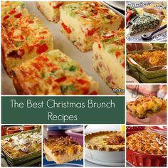 The Best Christmas Brunch Recipes: Here are 20+ easy and delicious recipes perfect for any Christmas brunch!