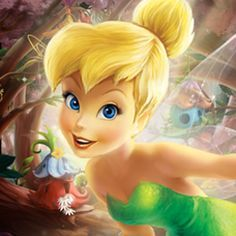 You know me . . . . You love me . . . . Tinker Bell!