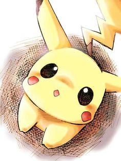 #Pikachu #dibujo #tierno