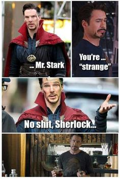 I personally love Benidict cumberbatch as Sherlock more than RDJ (sorry for everyone who loves RDJ)
