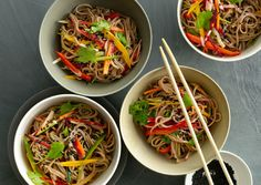 Cold Sesame Noodles with Summer Vegetables | 29 Pasta Salads To Chill Out With This Summer