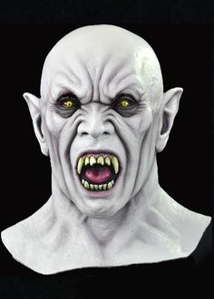 Blood Feast Vampire Halloween Face Mask, Jeff Death Collection, Death Studios Halloween Mask | TRICK or TREAT STUDIOS!