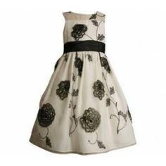 Bonnie Jean // Bonnie Jean Black and White Dress - $52.00