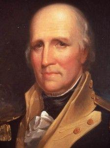 George Rogers Clark, portrait by Matthew Jouett