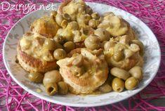 Vol aux Vents à l'Algérienne (sauce olives et champignons)