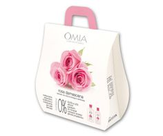 Vanity Gifts - Flower Bag Omnia Laboratoires, il regalo ideale per #sanvalentino.  Una #bellezza all'insegna della #natura con estratti BIO di Lavanda officinale, iris florentina e rosa damascena.   #beauty #wellness #cura #corpo