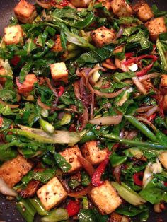 A fiery dish to dispel the misconception that tofu is bland!